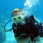 Scuba diving in Moorea
