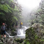 Raiatea Rando - the waterfalls
