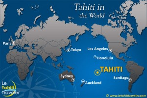 Tahiti in the World