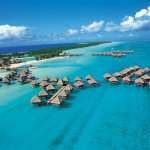 Le MERIDIEN BORA - View from the sky
