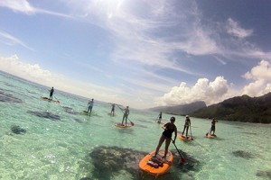 Moorea Paddle Board Adventure