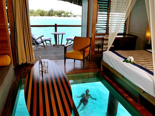 The overwater bungalow - The Tahiti Traveler