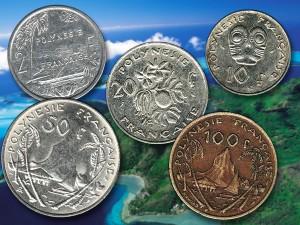 Polynesian coins