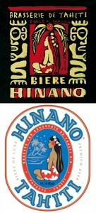 Hinano logo evolution