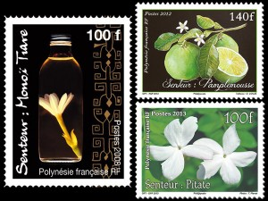 Aromatic stamps