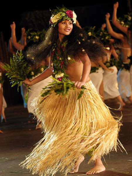 I have been practicing Ori Tahiti (Polynesian dance) since I was 14. Being  in a dance troupe for the last 4 years, I feel ready for the Heiva festival.