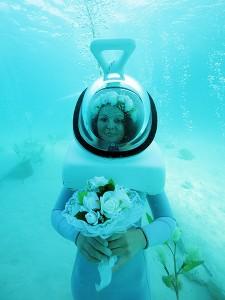 The underwater bride © G.LeBacon