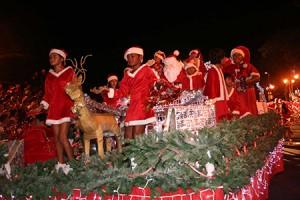 Christmas parade © Mairie de Papeete