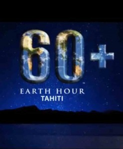 ©Earth Hour tahiti