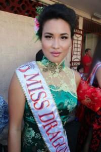 Miss dragon © La Dépêche de Tahiti