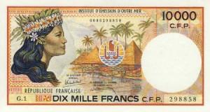 10000 Pacific Francs