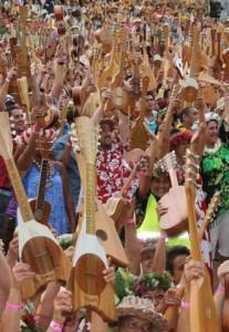 ukuleles Toata Arena Papeete